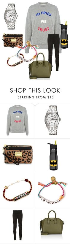 """Not elegant today!"" by lenibussi on Polyvore featuring Mode, Être Cécile, Casio, Betsey Johnson, ZAK, Venessa Arizaga, Yves Saint Laurent und Givenchy"