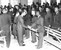 Tuskegee Airmen's Graduation. The school produced 992 pilots during World War II