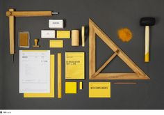 With the use of yellow, ACRE wanted to feature our work as a collaborative harvest between us, our clients and our partners. We took a field as inspiration for our logo. Being an art collective of idea crafters, we have a preoccupation with measurement devices, preferring the old way of customisation.