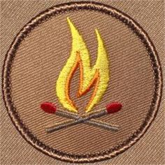 Crossed Matches Patrol Patch (#455)