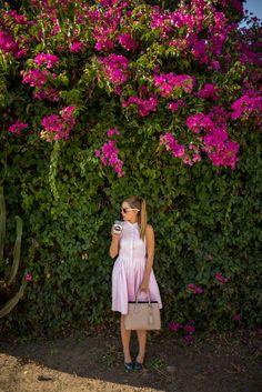Pink Shirtdress - Gal Meets Glam
