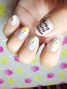 NO. 418 < Holly Hock nail >