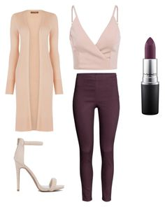 """""""Untitled #76"""" by layyy-layyy on Polyvore featuring H&M, Oasis and MAC Cosmetics"""