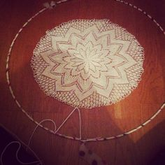 #workinprogress #dreamcatcher #handmade #deco #attrapereves