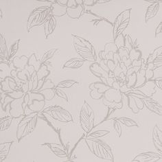 Shop Graham & Brown 56 sq ft White Pearl Floral Bloom Unpasted Wallpaper at Lowe's Canada online store. Find Wallpaper at lowest price guarantee. B&w Wallpaper, White Wallpaper, Textured Wallpaper, Flower Wallpaper, Grey And Cream Wallpaper, Classic Wallpaper, Kitchen Wallpaper, Embossed Wallpaper, B 17