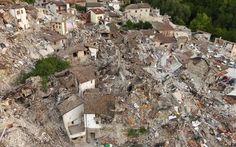 Ιταλία: Μετασεισμικές δονήσεις οδήγησαν σε κατάρρευση πτέρυγας δημοτικού > http://arenafm.gr/?p=230353