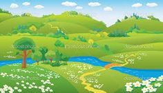 Image result for cartoon river