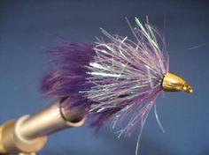 Conehead Bunny Leech Fly Pattern - big fish like big flies.