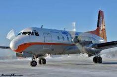 Air North Hawker Siddeley HS 748 at Dawson City, YT (YDA)