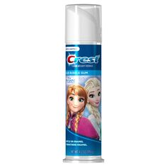 pack) Crest Kid's Cavity Protection Toothpaste (for Kids and Toddlers Featuring Disney's Frozen, Blue Bubble Gum, Ounce Image 1 of 2 Cavities In Kids, Flavored Toothpaste, Bubble Gum Flavor, Gum Flavors, Kids Bubbles, Frozen Toys, Disney Frozen Birthday, Princess Toys, Products