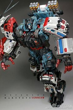 """DEFENSOR"" (G1) - Autobot Combiner *third-party variant"