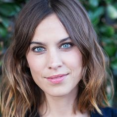 7 Super-Sexy Fall Hairstyles You Needto Try Now - Alexa Chung's Light Waves  from InStyle.com