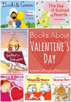 Books About Valentines Day.  Reviews of each.  Choices for babies, toddlers, preshcoolers, and elementary kids!