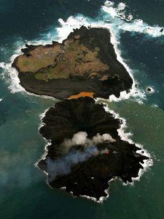小笠原の新島、8倍に成長   ナショナルジオグラフィック日本版サイト