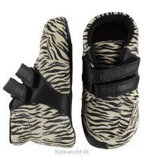 Bundgaard Prewalker Sko - Zebra m. Velcro