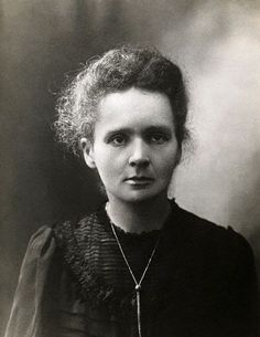 Marie Curie, née Sklodowska (1867-1934) became the first woman to win a Nobel Prize when she was awarded the 1903 Nobel Prize in Physics