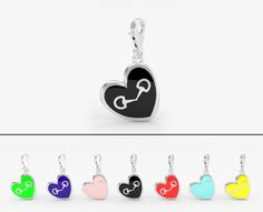 #valentinesday #valentinesdaygifts #jewelry #valentinesjewelry #hearts #heartbridlecharm