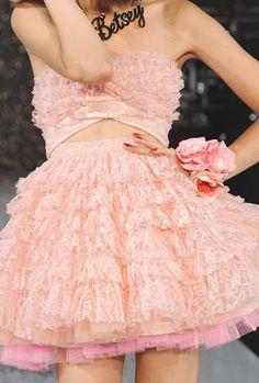 Lacy dress weird but cool