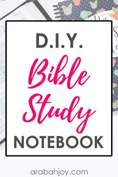 If you're ready to create your own DIY Bible study notebook, try these Bible study templates. Learn how to make a Bible study binder to keep your faith-based resources organized. It's makes spiritual growth that much easier! Bible Study Plans, Bible Study Notebook, Bible Study Tips, Bible Study Journal, Bible Lessons For Kids, Scripture Reading, Scripture Study, Bible Quotes, Bible Verses
