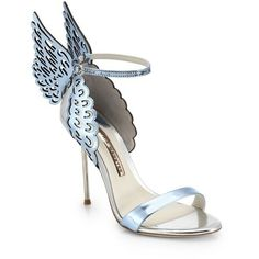 Sophia Webster Evangeline Winged Leather Sandals SS 2015 Shoes
