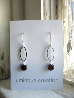 Garnet Earrings, Handmade Garnet Stone Silver Oval Hoop Earrings, Garnet Jewelry, Birthstone Earrings, Garnet Gemstone Earrings These are lightweight and a lot of fun to wear. Just the right size, could easily become your favorite pair of earrings. Featuring beautiful merlot red