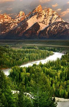National Park - Sunrise at Grand Teton National Park