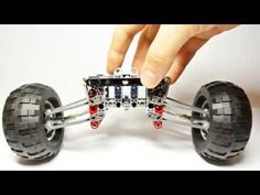 Terrain Suspension (My Own Lego Technic Solution) - YouTube
