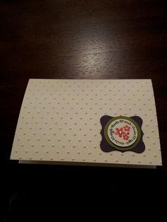 Thank you cards to match the wedding invites i made for my friend.