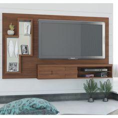 Decoração simples e elegante para a sala de estar? Confere este painel lá no site