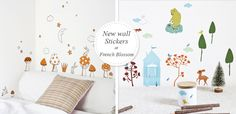 New wall stickers at www.frenchblossom.com