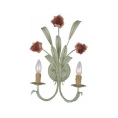 Crystorama Lighting Group 4802 Southport 2 Light Candle Style Floral ($67) ❤ liked on Polyvore featuring home, lighting, wall lights, indoor lighting, wall sconces, crystorama, crystorama lighting, wrought iron lighting, wrought iron sconces and wrought iron lamps
