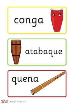 Teacher's Pet - Instruments from around the world - FREE Classroom Display Resource - EYFS, KS1, KS2, africa, african, music, musical, instrument