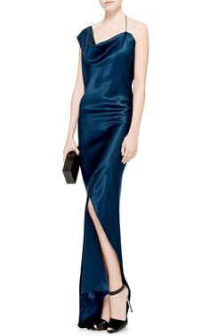 Double Charmeuse Nile Dress by Cushnie et Ochs - Moda Operandi