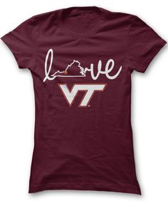 Virginia Tech Hokies Official Apparel - this licensed gear is the perfect…
