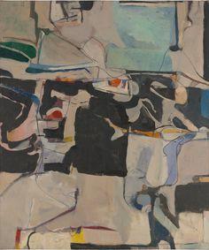 Richard Diebenkorn, Urbana #6, 1953.