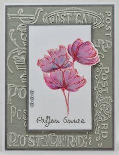 korttipaja SannaS: simppelit kukkakortit...