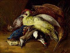Stillleben mit toten Vögeln by Franz Werner von Tamm Be Still, Still Life, 18th Century, Oil On Canvas, Auction, Birds, Private Property, Artist, Painting
