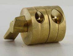 1/4ips. X 1/4ips. Unfinished Brass Clutch Swivel Set