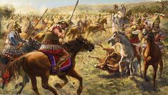 """""""Battle of the Granicus River""""   Radu Oltean  The Battle of the Granicus River in May 334 BC was the first of three major battles fought between Alexander the Great and the Persian Empire. Fought in Northwestern Asia Minor, near the site of Troy, it was here that Alexander defeated the forces of the Persian satraps of Asia Minor, including a large force of Greek mercenaries led by Memnon of Rhodes."""