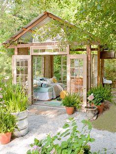 50 Popular DIY Backyard Studio Shed Remodel Design & Decor Ideas - Gartenhaus diy