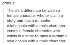 And there's a difference between new characters that have romance interests in a character and new characters that were MADE to have romance interests in a character (and cause drama as a buffer to the plot, not serving any function to the true story)