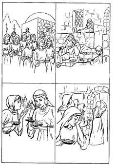 Jesus 12 Disciples Coloring Page | Apostles | Pinterest | Sunday ...