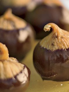 Chocolate Dipped Figs  (infused with brandy)  Photo: John Granen