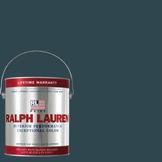 Ralph Lauren 1-gal. Iron Blue Flat Interior Paint-RL1856F - The Home Depot