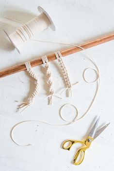 A Pair & A Spare | The Ultimate Macramé Knot Guide