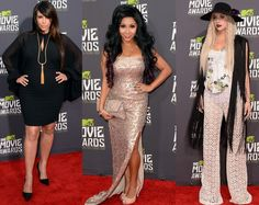 MTV Movie Awards 2013 Red Carpet Best Dressed Celebrities | Beauty Tips