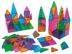 This is the BEST toy EVER.  Kids of all ages love this and will play with it forever and ever.  Seriously.  Magna-Tiles® - Master Set at Lakeshore Learning