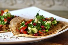 """Lebanese Sfeeha """"Tostadas"""" - these sound fabulous and I want to make them soon!"""