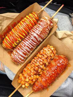 Dog Recipes, Cooking Recipes, Healthy Recipes, Food Blogs, Food Videos, Korean Street Food, Korean Food, Best Street Food, Food Goals