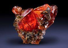 Wulfenite - Red Cloud Mine, La Paz County, Arizona